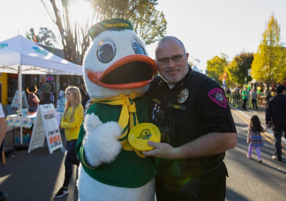 Chief Carmichael and Duck
