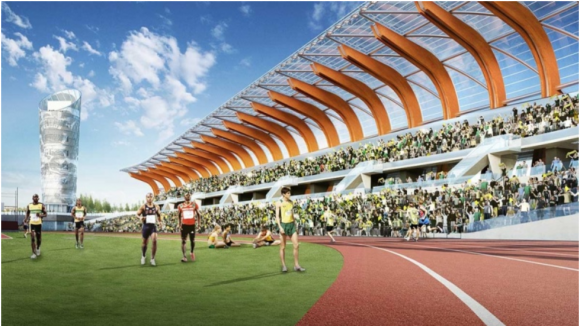 Hayward Field future look