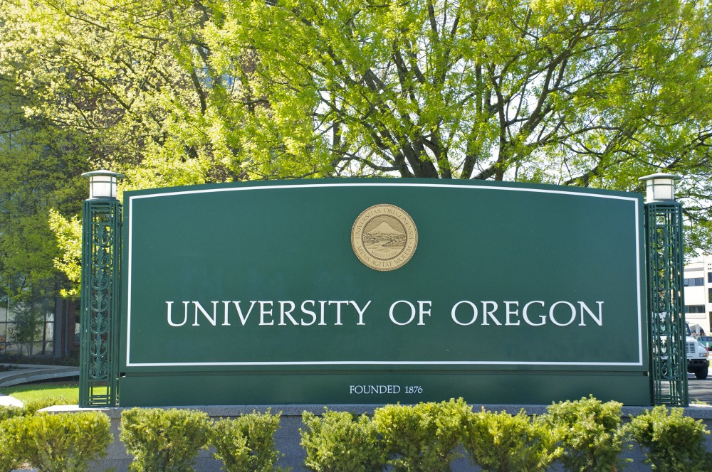 UO sign